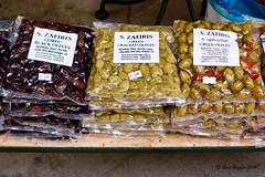 Aceitunas de Corfú (Raúl Grijalbo) Tags: green canon market greece mercado grecia olives corfu aceitunas olivas grijalbo zafiris