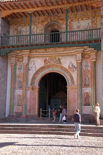"Peru - miasto Andahuaylillas z ""kaplicą Sykstyńską Ameryki"" <a style=""margin-left:10px; font-size:0.8em;"" href=""http://www.flickr.com/photos/125852101@N02/15921052833/"" target=""_blank"">@flickr</a>"