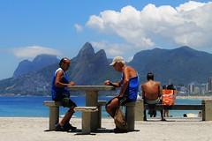 dois irmos (mislene.firmino) Tags: life sky beach beautiful rio brasil rj ipanema patience arpoador dois irmos