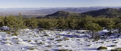 Snow and desert (Francisco Guillén Rojas) Tags: españa paisajes canon landscape spain paisaje panoramic sierra panoramica alto almeria 6d 2470 autopano calar filabres