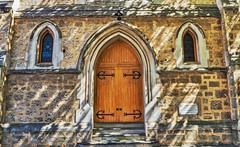 Gothic arch door (hoomanz) Tags: century arch gothic doorway late fremantle 19th