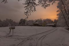 Southern snow... (Ken Thomann Photography) Tags: winter snow weather tupelo canon1635mmf28lii canon5dmarkii