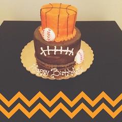 Sports cake by Brittany, Pittsburgh, PA, www.birthdaycakes4free.com