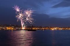 End of carnival celebration (Theophilos) Tags: sea sky night clouds fireworks celebration crete rethymno νύχτα κρήτη σύννεφα θάλασσα πυροτεχνήματα ρέθυμνο ουρανόσ