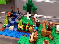 Toy Fair 2015 LEGO Minecraft 44 (IdleHandsBlog) Tags: toys lego videogames buildingsets minecraft toyfair2015