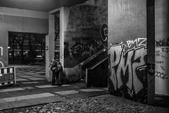 out (mahohn) Tags: bw monochrome stairs concrete graffiti hamburg treppe 32 fujix10