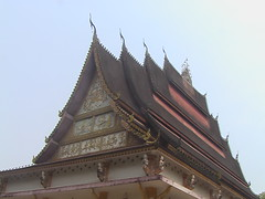 Roof of a Vientiane Temple