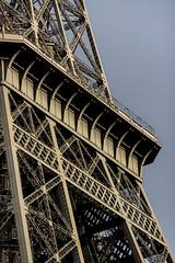 Tour Eiffel, Paris (IFM Photographic) Tags: paris france ex canon eiffeltower sigma os latoureiffel 75007 7th f28 dg 70200mm 7me gustaveeiffel 7e 600d hsm sigma70200mm ladamedefer 7tharrondisment arondisment sigma70200mmf28exdgoshsm img6732a