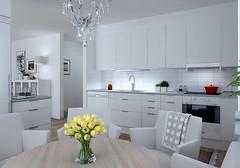 Elineberg - exempel på möblerbart kök