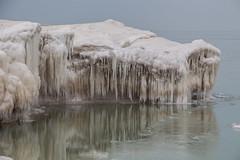 Teeth of winter (aerojad) Tags: winter snow ice lakemichigan fosterbeach chicag