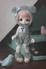 Mimimiiii  (cachoou) Tags: japan doll artist handmade juice bjd kiki couture kinoko