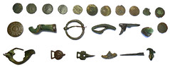 Size Montage 1 (matallic) (Welcome to The PAST) Tags: gold hammered roman brooch medieval celtic viking flint saxon scraper neolithic ironage fibula romanobritish metaldetecting stater knapped earlybronzeage samianware metaldetectingfinds