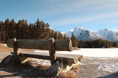 HBM Happy Bench Monday (davebloggs007) Tags: park lake canada bench happy johnson national alberta banff monday hbm