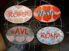 ROMP WAVL magnets valentines heart batch (zen) Tags: usa project asheville batch northcarolina magnets oval artproject romp zensutherland randomovalmagnetproject 20150214