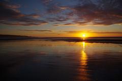 Ninety Mile Beach 1 (Markj9035) Tags: ocean sunset sea reflection beach reflections waves northland 90milebeach ninetymilebeach northlands