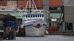 1718_Northwestern (lg evans Maritime Images) Tags: fish boats salmon crab wa northwestern float docked hansen tender seatle hanson locking discoverychannel workboats deadliestcatch lgevans maritimeimages lgevans maritimeimages
