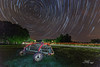Abandoned (Avisek Choudhury) Tags: stars northcarolina startrail canon1635mmf28lii canon5dmarkiii avisekchoudhury acratechballhead avisekchoudhuryphotography