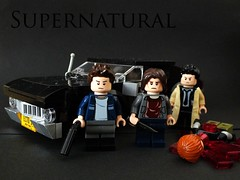 Still Alive... (The_Lego_Guy) Tags: angel sam im lego dean chevy lives alive impala winchester supernatural the castiel thelegoguy