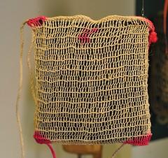 Ixtle Fiber Bag Ixtayutla Oaxaca Mexico (Teyacapan) Tags: museum mexican oaxaca bags textiles bolsa mixtec ixtle ixtayutla