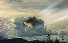 cloud ring (xtremepeaks) Tags: cloud ring bc canada mountains landscape sky weather stormy apocalyptic sunset ray light