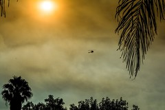 Fury fire sky (jflo2photography) Tags: hot summer california losangeles photography nikon helicopter sky wildfire fire