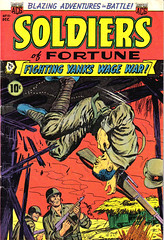 Soldiers of Fortune 11 (Michael Vance1) Tags: war art adventure artist anthology comics comicbooks cartoonist soldiers