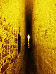 Narrow (teaselbrush) Tags: fort defense structure defensive historic military army narrow passage passageway corridor
