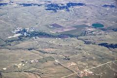 A View of Farmlands in Colorado (thor_mark ) Tags: travel unitedstates farmland co farms miscellaneous day9 planewindow airplanewindow southwestairlines project365 colorefexpro airplanewindowview flighttoaustin nikond800e capturenx2edited farmlandbelow flightdiatoaus