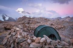Mt Cook Camp (David Swindler (ActionPhotoTours.com)) Tags: camping newzealand camp tent ridge mtcook southisland aoraki