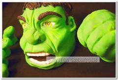 HULK (Dolcegacreations) Tags: hulk fantastic4 louferrigno fantastici4 pdz sugarpaste pastadizucchero dolcegacreations wwwdolcegacom dolcega