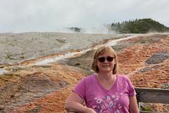 DSD_1467 (pezlud) Tags: yellowstone nationalpark landscape geyserbasin grandprismaticspring midwaygeyserbasin geyser park jenell