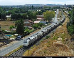 Aorado etanol (Trenes2000) Tags: tren diesel 333 prima zans renfe mercancias cisternas etanol bioetanol 333305 trenes2000
