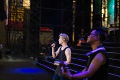 Bii & Alex (Randy Wei) Tags: music musicians concert live performance fujifilm speedmaster zhongyi xe1 mitakon