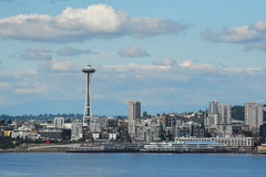 Space Needle skyline (US Department of State) Tags: seattle sky skyline architecture landscapes cityscape landmarks washingtonstate