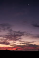 Where the land meets the ocean meets the sky meets the moon (brad_witt_1780) Tags: sunset clouds colors colours sky moon eos500d sigma 1835mm capelegrand esperance
