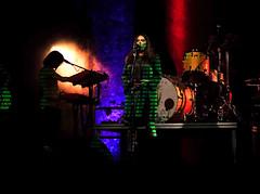 """ Music, lights and colors "" (pigianca) Tags: nada nadamalanima singer music colors laser atoysorchestra fujixt1 fujinon56mmf12"