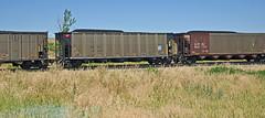 NCUX 12410 coal hopper-Orellia, Nebraska. (Wheatking2011) Tags: ncux coal hopper transport capitol leasing company orellia hill bnsf railroad nebraska