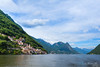 The Village of Gandria (Susanna Siu) Tags: travel traveleurope travelswiss travelswitzerland lugano lakelugano gandria hills lake sky bluesky canon5dmarkll canonef1635mmf28liiusm canon