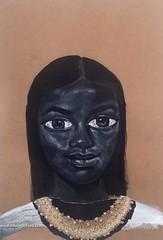 Black Mona Lisa (Edward Ofosu) Tags: black mona lisa painting