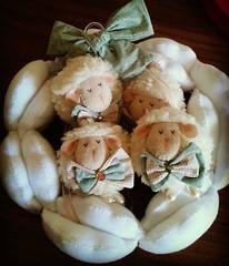 4u (Eliza de Castro) Tags: mbile de bero mobile decorao bebe quarto ideia tendncia elo7 ovelha ovelhinha ovelhina menino boy baby its verde creme xadrezpo