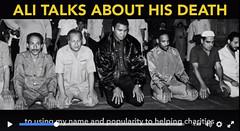 MUHAMMAD ALI : SPEAKS ON HIS DEATH (Muslim Mate) Tags: iphone ipad islam salah dua dhikr supplication muslimmate muhammadali death