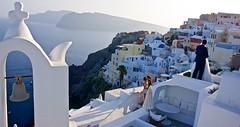Wedding bells toll at Santorini (somabiswas) Tags: greece santorini oia aegean sea seascapes photoshoot wedding bell tower diamondclassphotographer