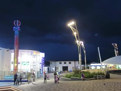 Thunderbolts & Lightning (Katie_Russell) Tags: portrush coantrim countyantrim ni ireland nireland northernireland ulster norniron video videos barrys amusements dark night nighttime lightning storm flash flashes flashing