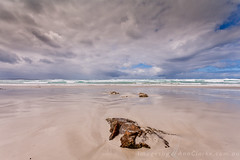 Clouds soar (Images by Ann Clarke) Tags: wreckbeach clouds coastal lowtide ocean panoramasurf