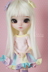 Berry (Mikiyochii) Tags: doll pullip groove colorful freckles custom