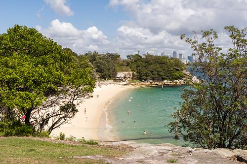 Shark Beach - Nielsen Park