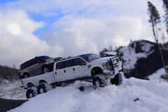 Ford F-350 6 door 6wd 27 (My Scale Passion) Tags: ford f350 meng monogram losi micro mini crawler scale rc modeling custom snow snowrun crawling climbing expedition northpole southpole truck double dual dually duallie 6door 10wd 10x10 125 124 miniz overland landcruiser build