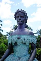 DSC02208 (adamfrunski) Tags: funchal madeira portugal statue lady portrait