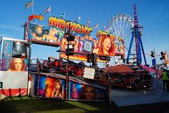 DSC02253 (A Parton Photography) Tags: fairground rides spinning longexposure miltonkeynes fireworks bonfire november cold