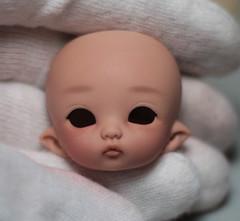PukiPuki Ruby Progress (miyukisetsu) Tags: bjd abjd up miyukisetsu crescent aesthetics face